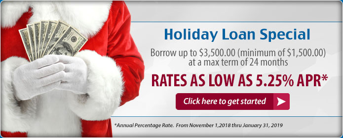 Holiday Loan. Apply Today.