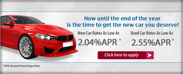 Auto Loan as low as 1.99% APR. Apply Today.